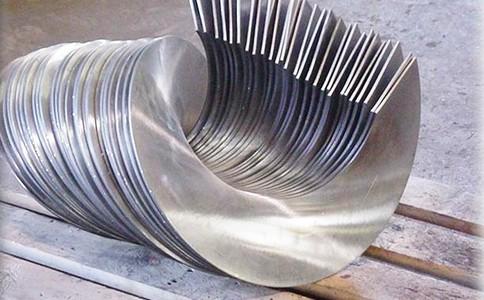 螺旋叶片是螺旋输送机的重要输送配件