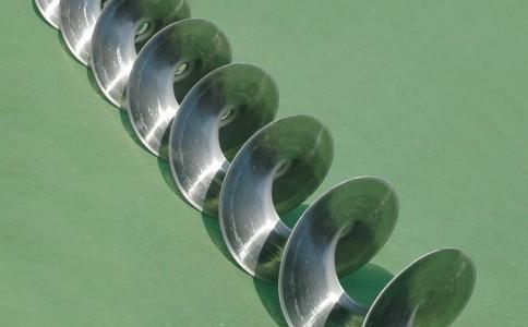 螺旋叶片的磨损是一个很重要的现象