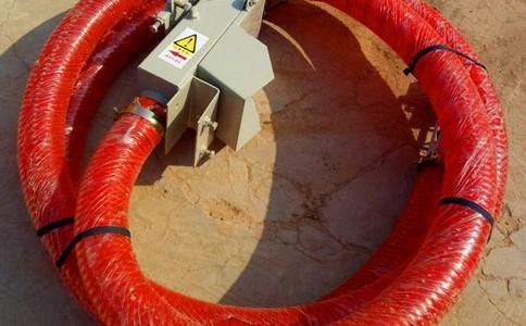螺旋叶片用于颗粒或粉状物料的水平输送