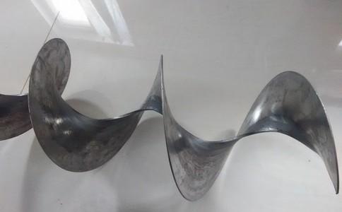 不锈钢螺旋形空间曲面