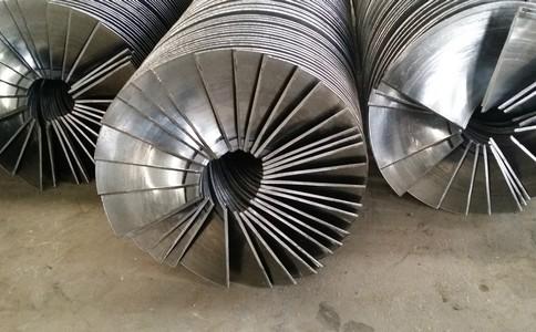 通过连续冷轧制作的螺旋叶片具有良好的优势
